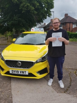 A big congratulations to a Jack Jenkinson, who has passed his driving test today at Newcastle Driving Test Centre, with just 3 driver faults.<br />
