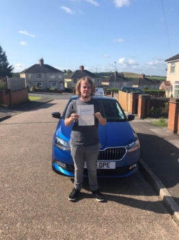 A big congratulations to Kynan Bell, who has passed his driving test today at Cobridge Driving Test Centre, at his First attempt and with just 3 driver faults.<br />