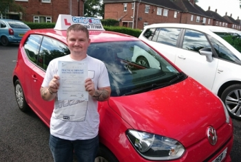A big congratulations to Alan Tharme Alan passed his driving test today at Newcastle Driving Test Centre with 7 driver faults <br />