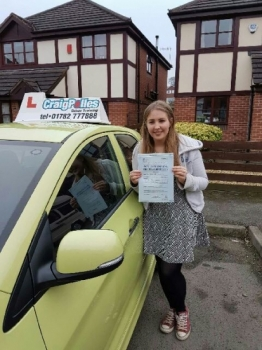 A big congratulations to Alice Witherick Alice passed her<br />