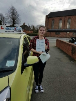 A big congratulations to Amy Bayliss Amy passed her<br />