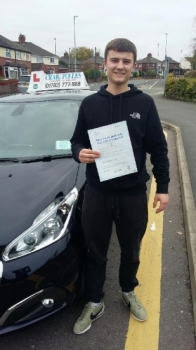 A big congratulations to Andrew Zuskowski Andrew passed his driving test today at Newcastle Driving Test Centre first time and with just 5 driver faults<br />