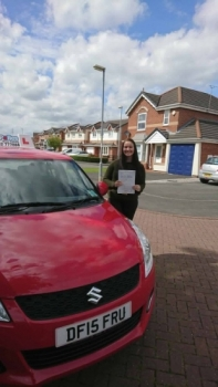 A big congratulations to Anna Johnson Anna passed her driving test at Crewe Driving Test Centre first time and with just 2 driver faults <br />