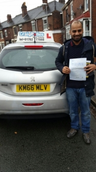 A big congratulations to Ansar Hussain Ansar passed his<br />