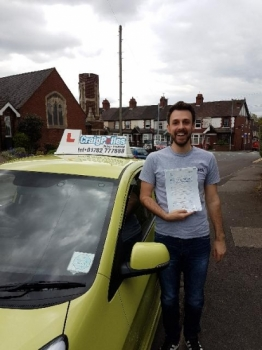 A big congratulations to Antony Beardmore Antony passed his driving test today at Newcastle Driving Test Centre with just 2 driver faults <br />