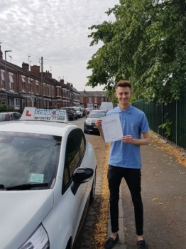 A big congratulations to Ben Cresswell Ben passed his driving test today at Crewe Driving Test Centre with just 5 driver faults <br />