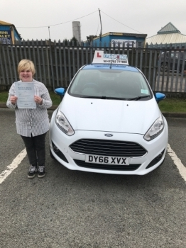 A big congratulations to Beth Bettany Beth passed her<br />
