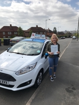 A big congratulations to Beth Colclough Beth passed her driving test today at Cobridge Driving Test Centre with 8 driver faults <br />
