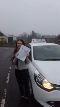 A big congratulations to Beth Douglas Beth passed her<br />