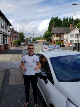 A big congratulations to Callum Pugh Callum passed his driving test today at Cobridge Driving Test Centre with just 1 driver fault <br />