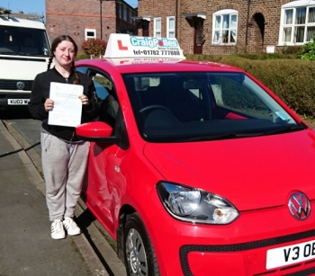 A big congratulations to Charlie Leigh Charlie passed her<br />