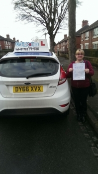 A big congratulations to Clare Louise Robertson Clare passed her<br />