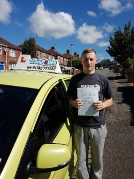 A big congratulations to Corey Nelson Corey passed his driving test today at Newcastle Driving Test Centre first time and with just 5 driver faults <br />