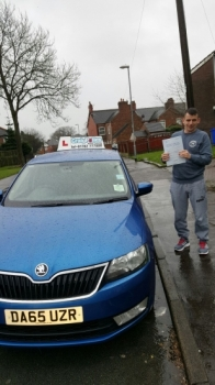A big congratulations to Craig Nibloe Craig passed his<br />