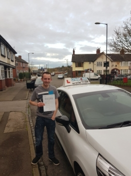 A big congratulations to Daniel Wood, who has passed his driving test today at Cobridge Driving Test Centre, with just 4 driver faults.<br />