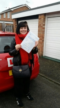 A big congratulations to Eva Daly Eva passed her<br />