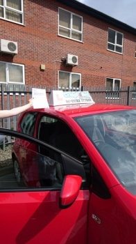 A big congratulations to a camera shy Hannah Mountford Hannah passed her driving test at Newcastle Driving Test Centre first time and with just 6 driver faults <br />