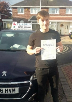 A big congratulations to Harry Lake Harry passed his driving test today at Newcastle Driving Test Centre first time and with just 5 driver faults<br />