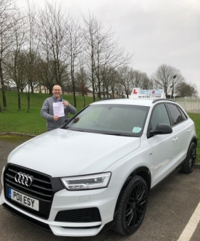 A massive congratulations goes to Jason Cook, who passed his ADI Part 3 test at his first attempt - Cobridge Test Centre. <br />