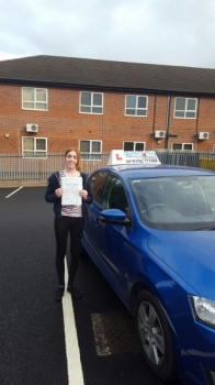 A big congratulations to Imogen Kelly Imogen passed her driving test today at Newcastle Driving Test Centre with just 2 driver faults<br />