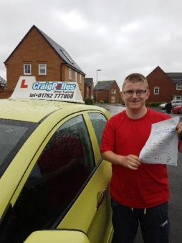 A big congratulations to Jack Davies Jack passed his driving test today at Newcastle Driving Test Centre with just 5 driver faults <br />