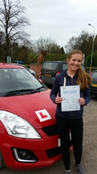 A big congratulations to Katie Gibbins Katie passed her<br />
