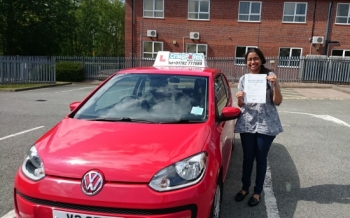 A big congratulations to Kavitha Pai Kavitha passed her driving test today at Newcastle Driving Test Centre with just 5 driver faults <br />