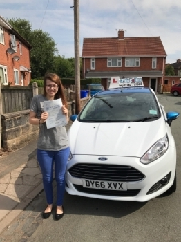 A big congratulations to Kerry Cole Kerry passed her driving test today at Newcastle Driving Test Centre with 8 driver faults <br />