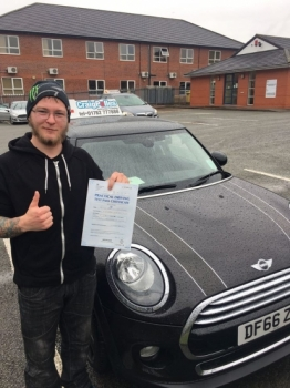 A big congratulations to Kyle Crawford Kyle passed his driving test today at Newcastle Driving Test Centre first attempt and with just 3 driver faults<br />