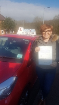 A big congratulations to Lauren Bebbington, who has passed her driving test today at Newcastle Driving Test Centre, with just 3 driver faults.<br />