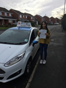 A big congratulations to Lavender Bansal Lavender passed her<br />