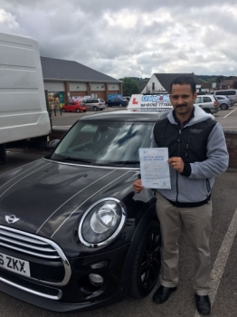 A big congratulations to Martin Jose Martin passed his driving test today at Buxton Driving Test Centre with 7 driver faults <br />