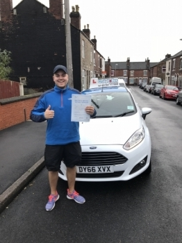 A big congratulations to Matt Evans Matt passed his driving test at Newcastle Driving Test Centre today and with just 1 driver fault<br />