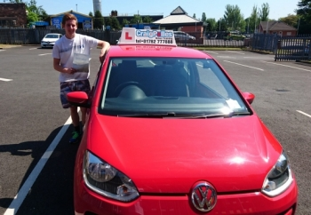 A big congratulations to Mick Owen, who has passed his driving test toady at Newcastle Driving Test Centre.<br />