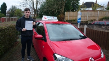 A big congratulations to Mike Stoddard, who has passed his driving test today at Newcastle Driving Test Centre, with just 3 driver faults.<br />