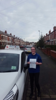 A big congratulations to Millie Hocknell Millie passed her<br />