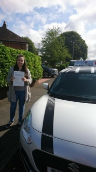 A big congratulations to Nicola Ford, who has passed her driving test today at Crewe Driving Test Centre, with just 2driver faults.<br />