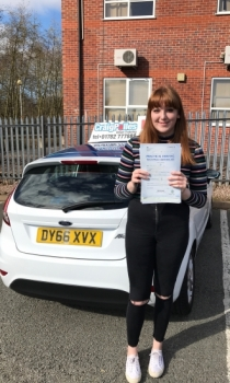 A big congratulations to Olivia Day Olivia passed her<br />