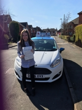 A big congratulations to Olivia Fowell Olivia passed her<br />