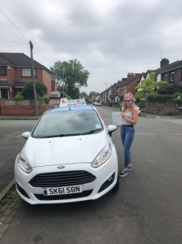 A big congratulations to Emily Hagan, who has passed her driving test today at Newcastle Driving Test Centre.<br />