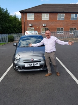 A massive congratulations goes to Paul Lees, who not only passed his ADI Parts 1 and 2 first time, but now, also his ADI Part 3 - Newcastle Driving Test Centre. <br />