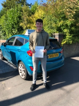 A big congratulations to Luca Hibble, who has passed his driving test today at Newcastle Driving Test Centre.<br />