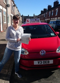 A big congratulations to Sarah Cartwright, who has passed her driving test today at Newcastle Driving Test Centre, with just 5 driver faults. Well done Sarah - safe driving from all at Craig Polles Instructor Training and Driving School. 🙂🚗 Instructor-Debbie Griffin
