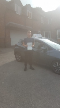 A big congratulations to Eathon Bowker, who has passed his driving test at Newcastle Driving Test Centre, with just 5 driver faults.<br />