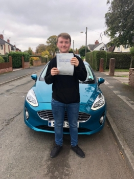 A big congratulations to Matt Cureton, who has passed his driving test today at Newcastle Driving Test Centre.<br />