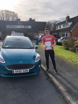A big congratulations to Zack Devaney, who has passed his driving test today at Newcastle Driving Test Centre, on his First attempt.<br />