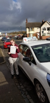 A big congratulations to kaisey Atherton, who has passed her driving test today at Cobridge Driving Test Centre, on her First attempt and with just 4 driver faults.<br />