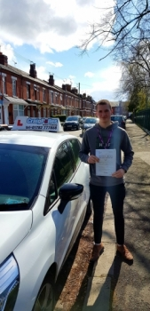 A big congratulations to Patrick Brewer, who has passed his driving test today at Crewe Driving Test Centre, on his First attempt and with just 3 driver faults.<br />