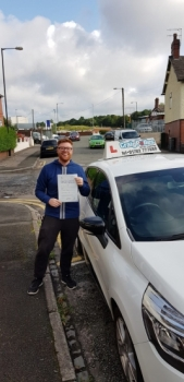 A big congratulations to Oli Mountford, who has passed his driving test today at Cobridge Driving Test Centre, with just 5 driver faults.<br />