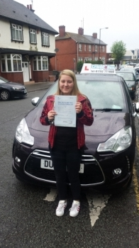 A big congratulations to Rachel Saville Rachel passed her driving test today at Cobridge Driving Test Centre with just 1 driver fault <br />